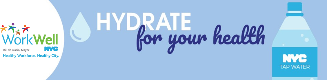 Hydrate for your health