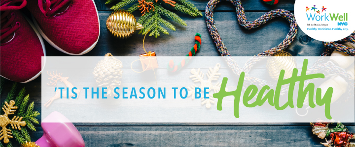 Tis the Season to Be Healthy Banner