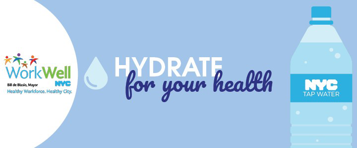 WorkWell Banner Hydrate for Health