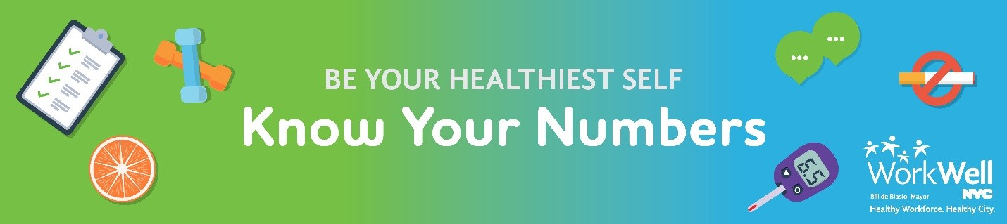 Wellness Banner - Know Your Numbers