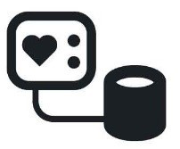 Blood Pressure Device Icon