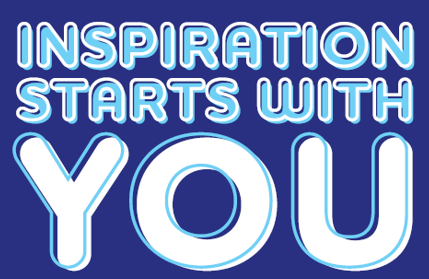 Inspiration starts with you