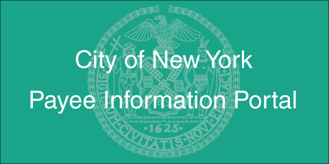 Payee Information Portal of the City of New York
