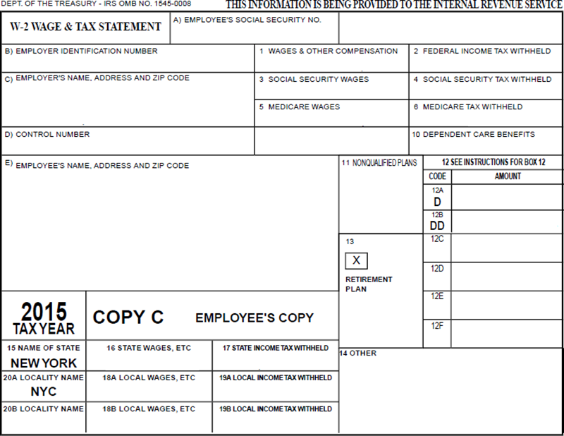 W-2 Wage and Tax Statement Explained - OPA
