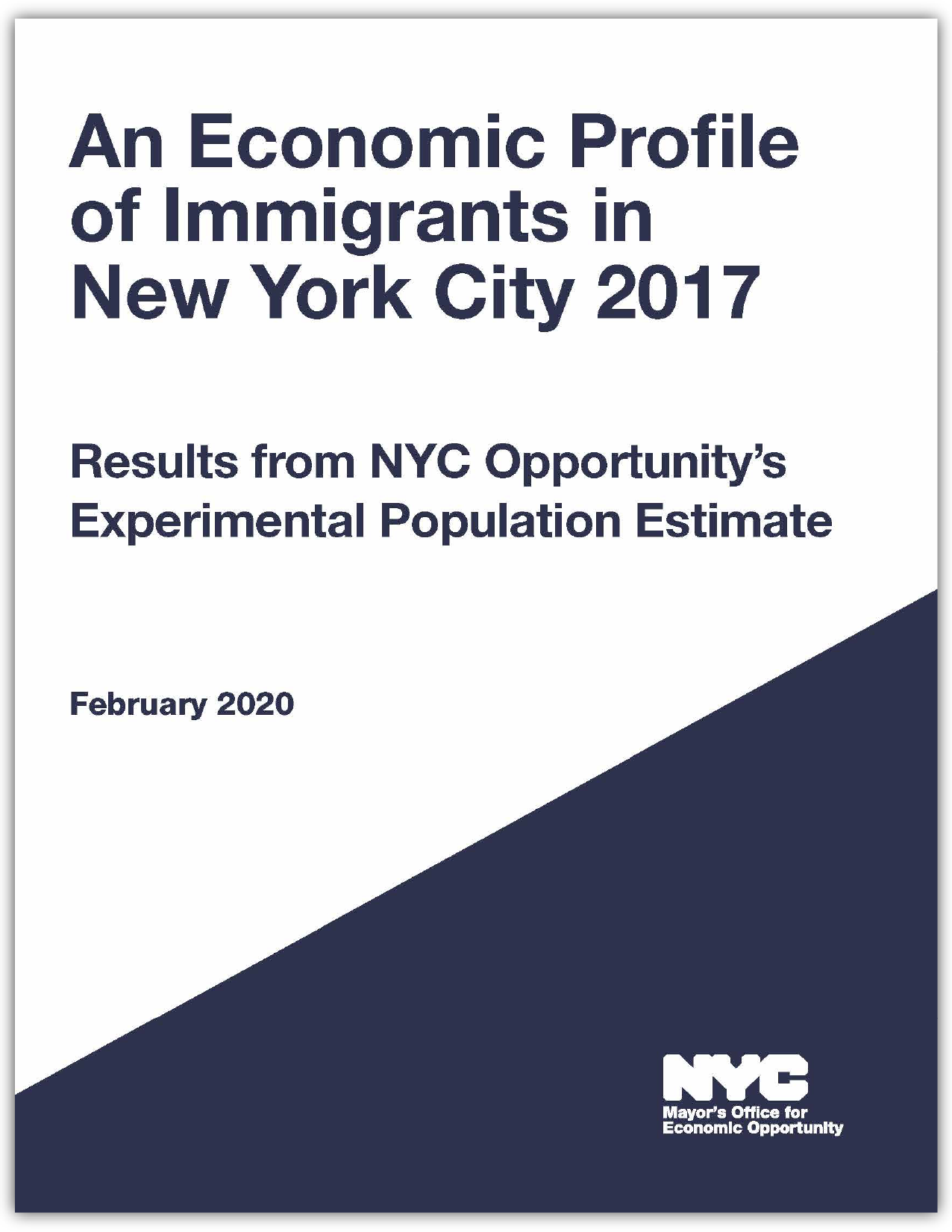 Economic Profile of Immigrants