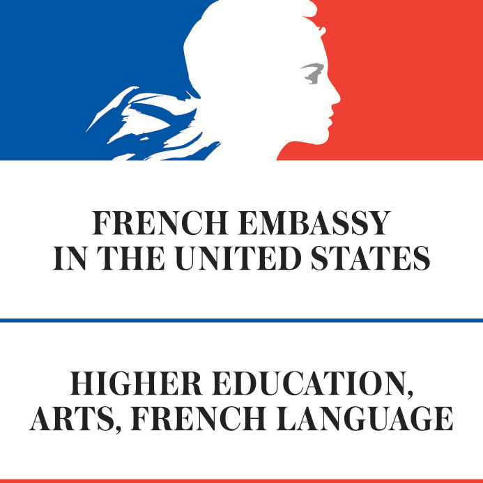 French Embassy in the United States | Higher Education, Arts, French Language logo
