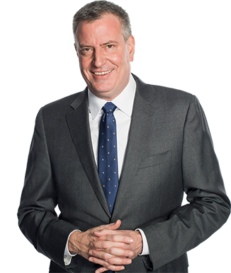 Photo of Mayor de Blasio