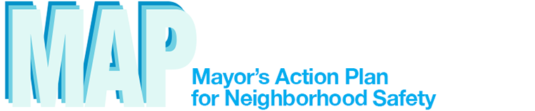 MAP - Mayor's Action Plan for Neighborhood Safety - Logo