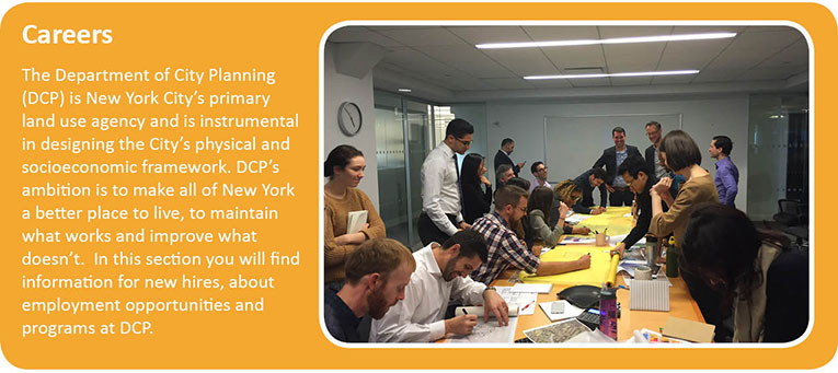 NYC Department of City Planning - Careers