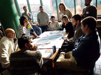 Group meeting on Bushwick Neighborhood Plan