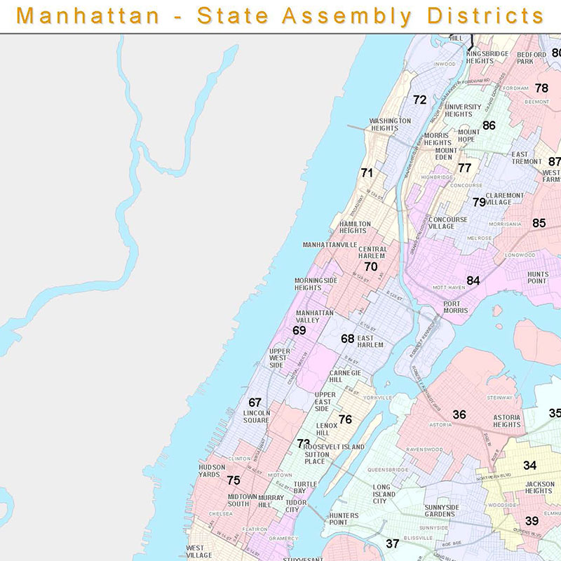 City Map Of New York State.Maps Geography