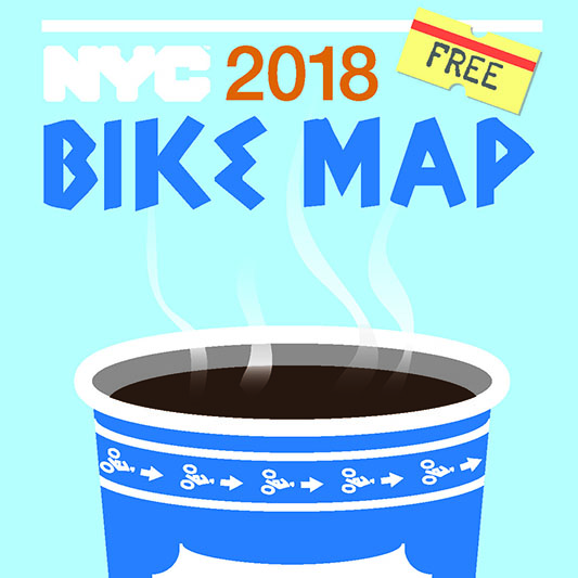 2018 Citywide Bike Map