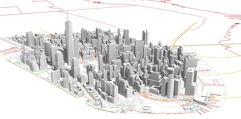 NYC 3D Model Download