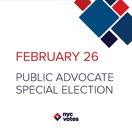 February 26 Public Advocate Election