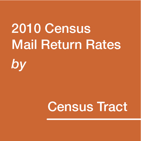 2010 Census Mail Return Rates by Census Tracts