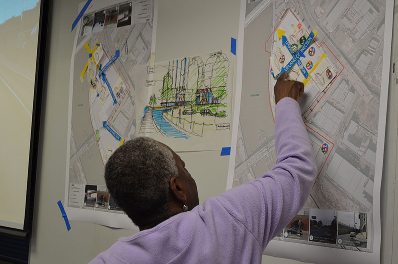 Groups shared their plans for waterfront access and their vision for the Harlem River.
