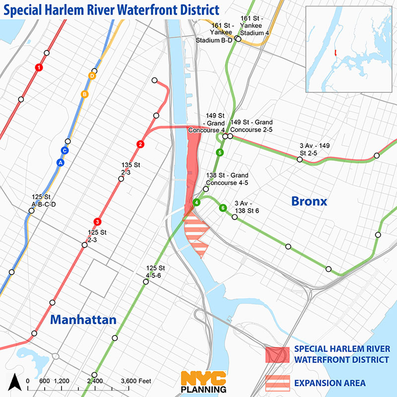 Special Harlem River Waterfront District