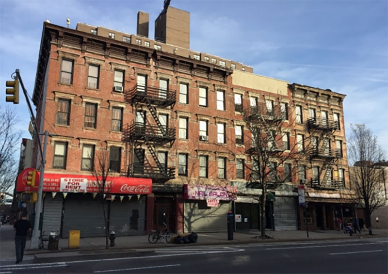 Tenement Buildings in East Harlem