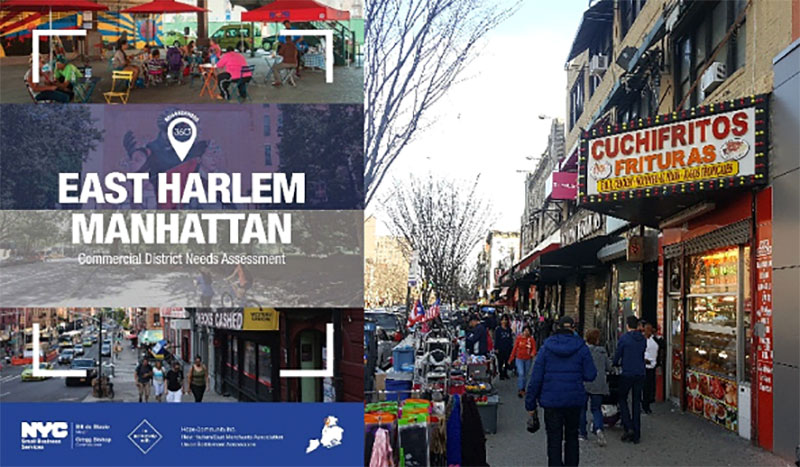 East Harlem Commercial District Needs Assessment and East 116th Street