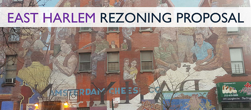 East Harlem Rezoning Proposal