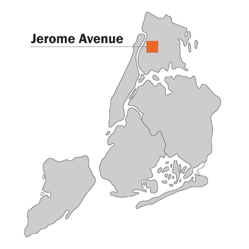 Jerome Ave Study Area