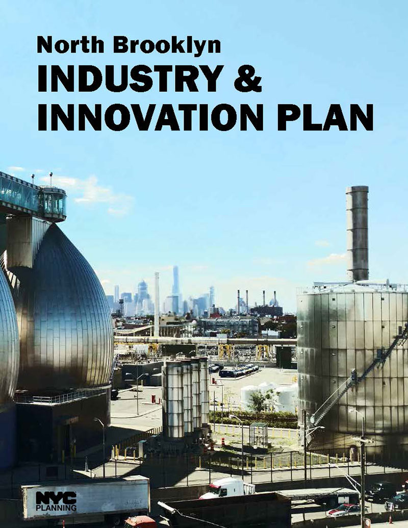 North Brooklyn Industry & Innovation Plan Cover