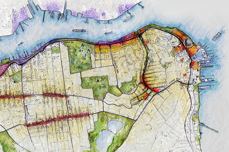 Staten Island North Shore - Land Use & Transportation Study