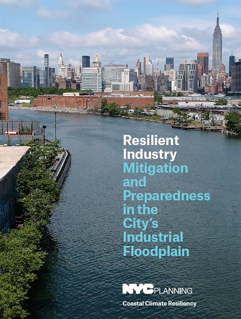 Resilient Industry Mitigation and Preparedness in the City's Industrial Floodplain Report Cover