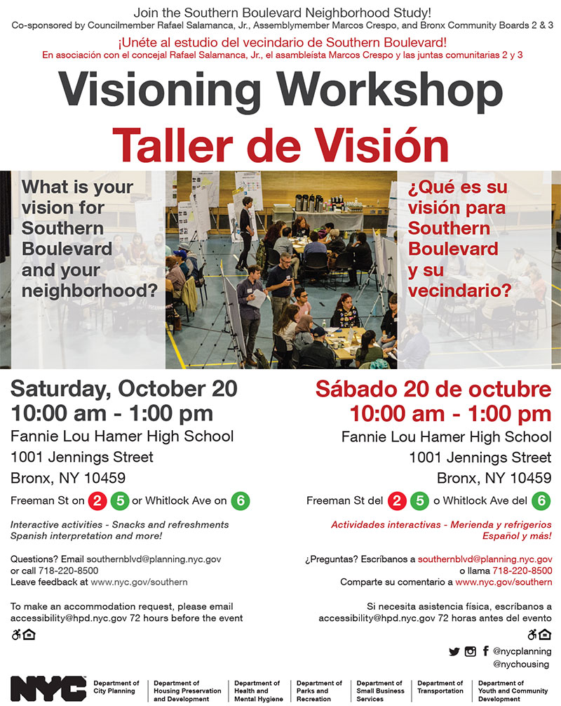 October 20 Workshop Flyer