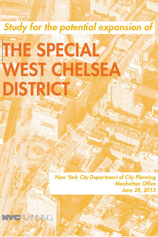Special West Chelsea Report Cover