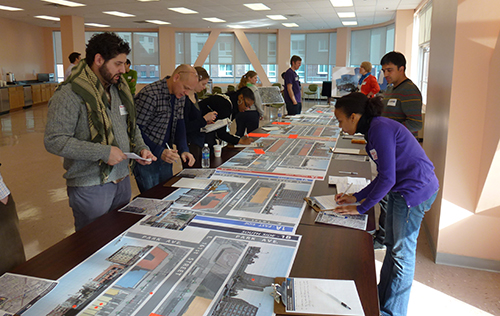Interactive workshop around the Melrose Metro-North Station