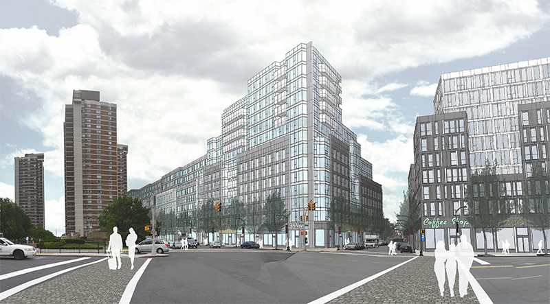 Potential improvements around the proposed Morris Park Metro-North Station
