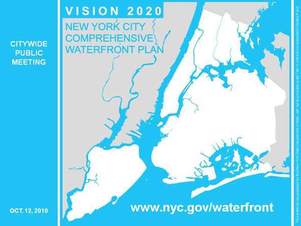 NYC Comprehensive Waterfront Plan - DCP