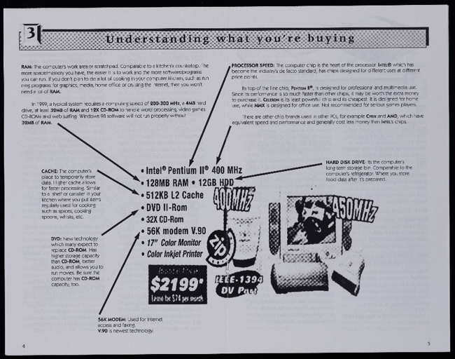 'A Beginner's Guide to Buying a Computer' from approximately 1995.