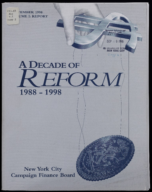 A Decade of Reform Cover