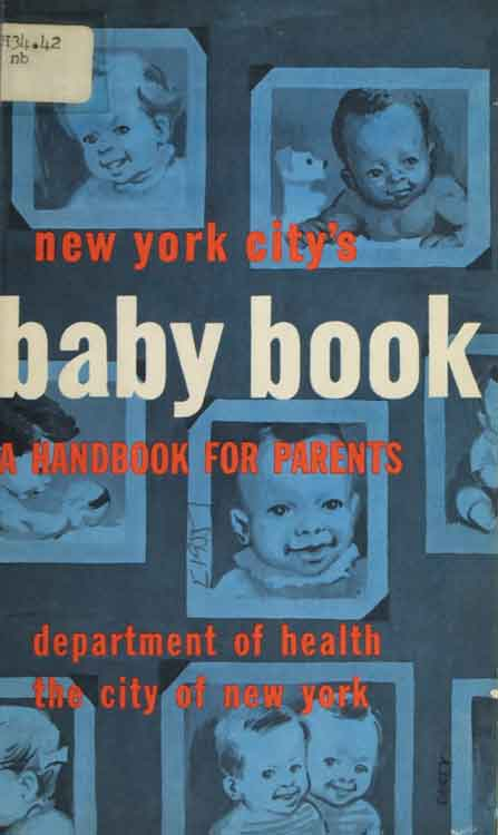 Cover of the New York City's Baby Book: A Handbook for Parents