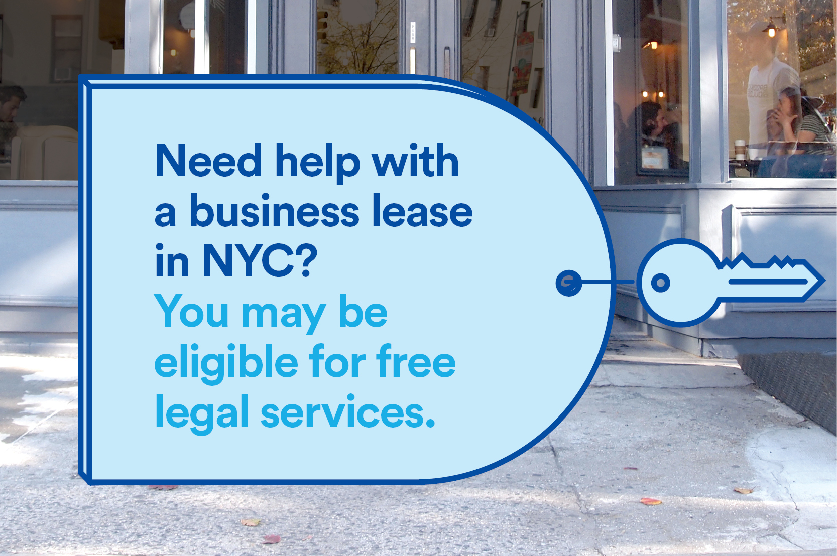 Need help with a business lease in NYC? You may be eligible for free legal services.