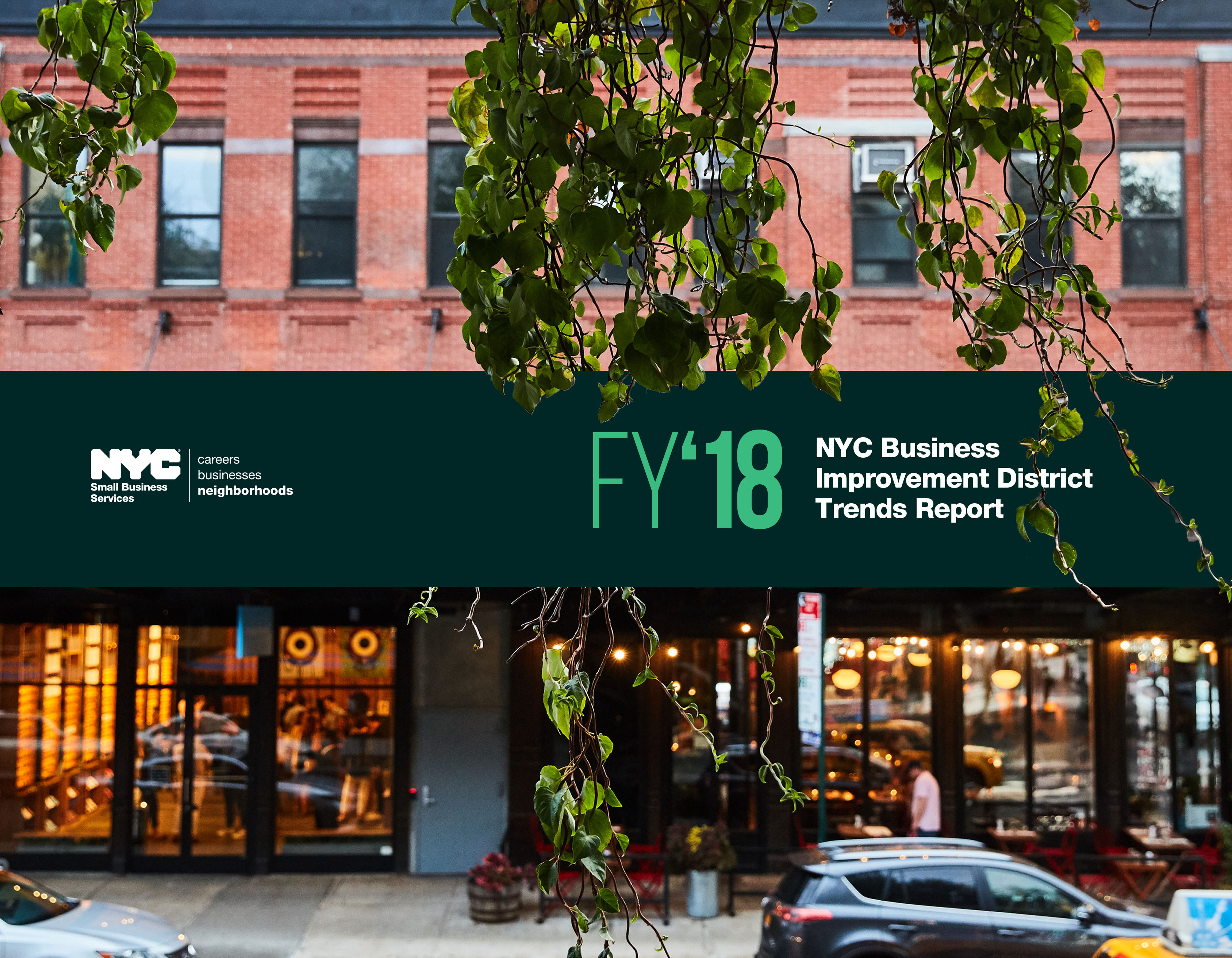 NYC Business Improvement District Trends Report: Fiscal Year 2018
