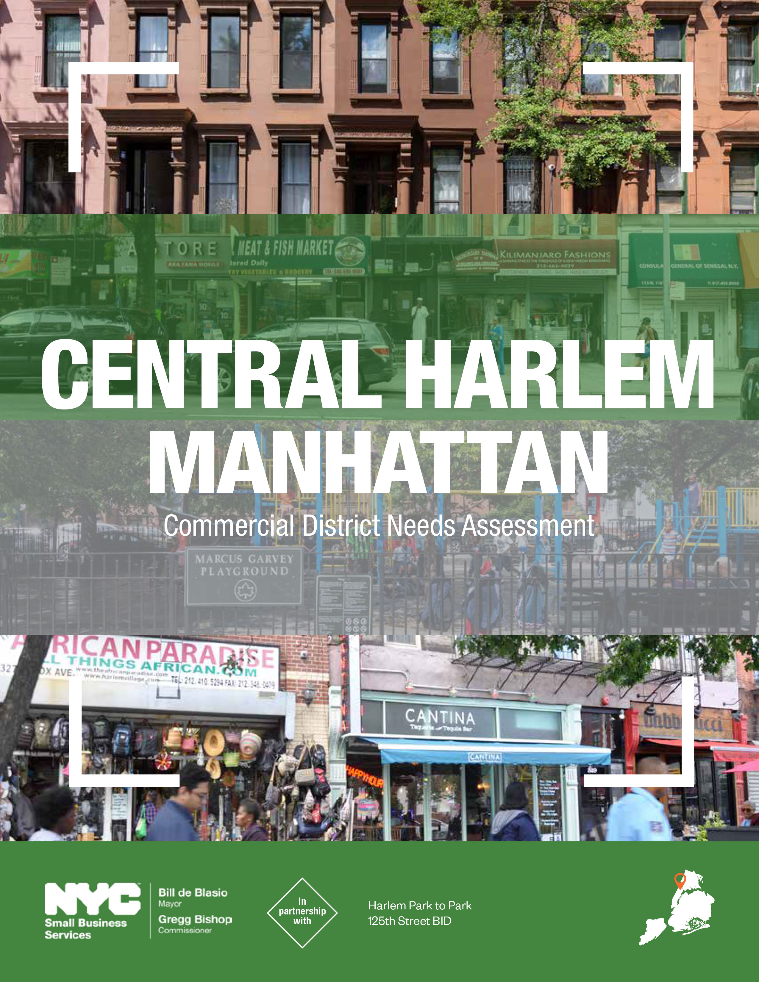 Central Harlem Commercial District Needs Assessment