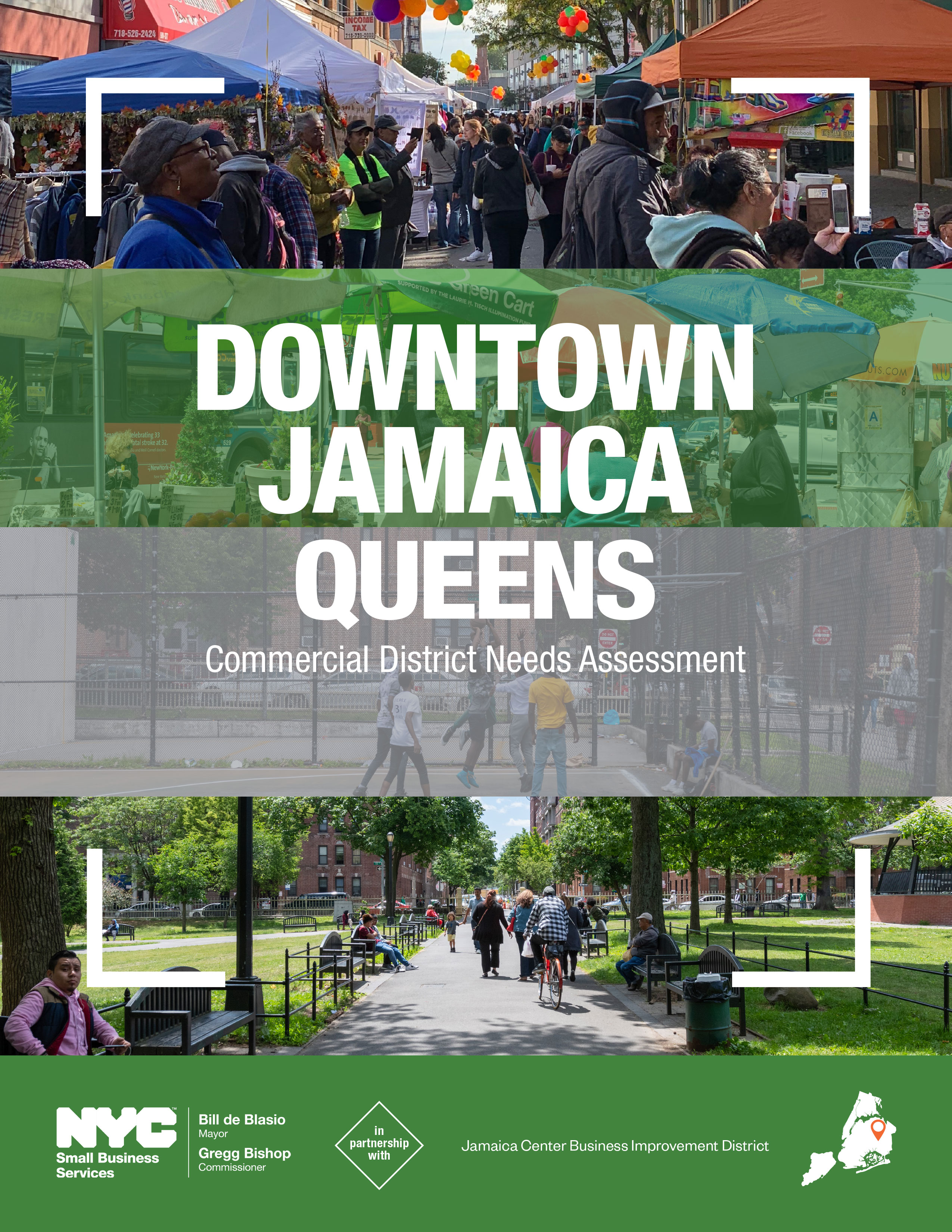 Downtown Jamaica Commercial District Needs Assessment