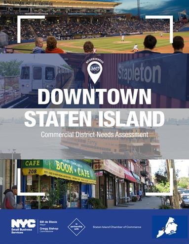 Downtown Staten Island Commercial District Needs Assessment
