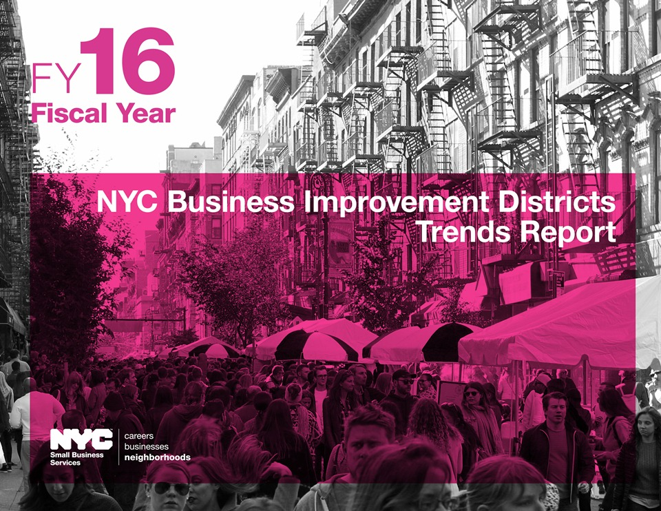 FY16 BID Trends Report cover page and link