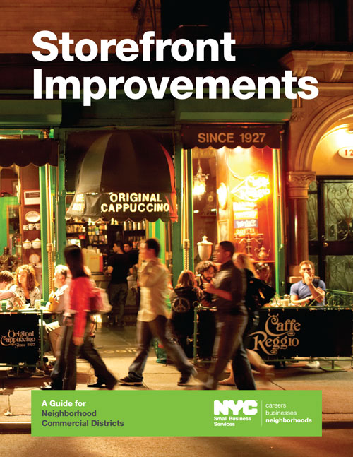 Storefront Improvements: A Guide for Neighborhood Commercial Districts