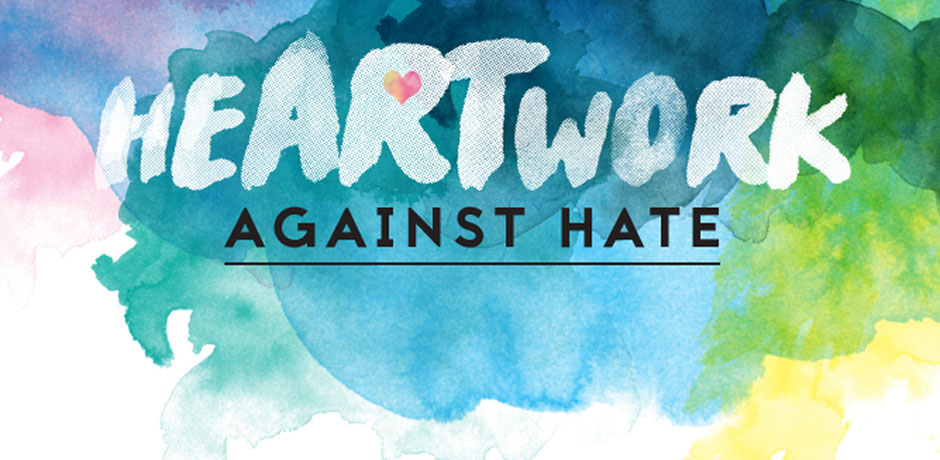 Logo for O P H C Heartwork Against Hate Art Contest