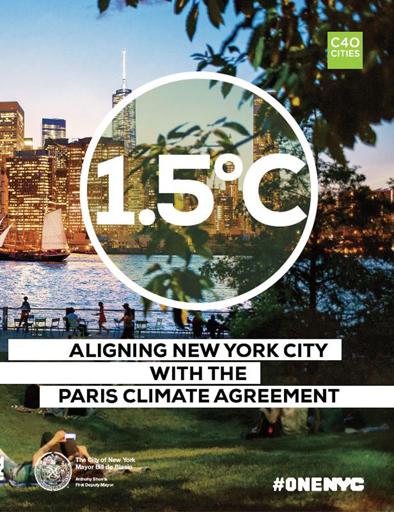 1.5°C: Aligning New York City with the Paris Climate Agreement