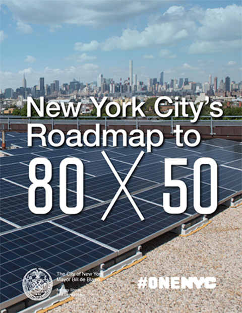 New York City's Roadmap to 80x50 Report Cover