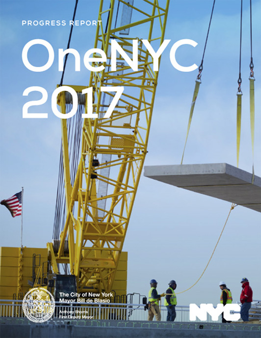 OneNYC 2017 Report Cover