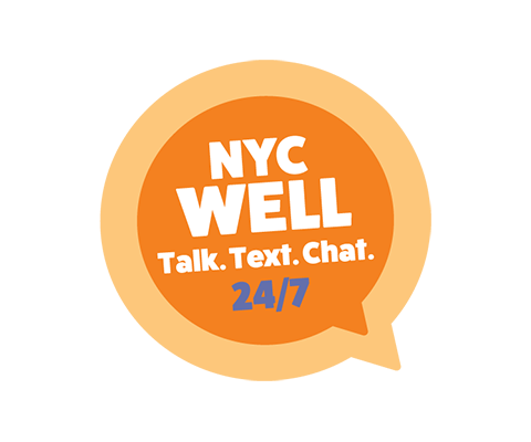 NYC Well | Talk. Text. Chat. 24/7