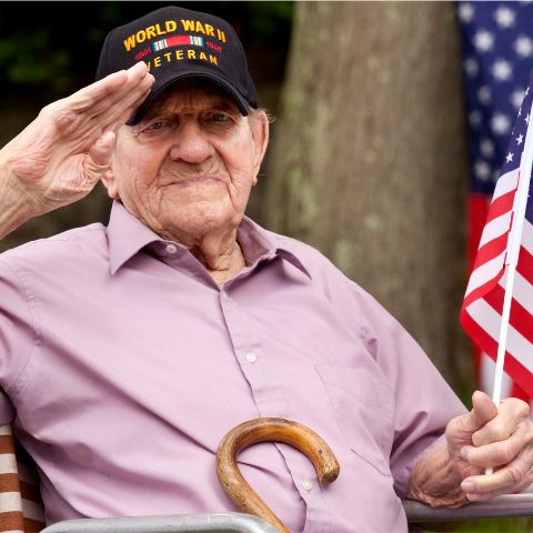 Visit the Senior Veterans page