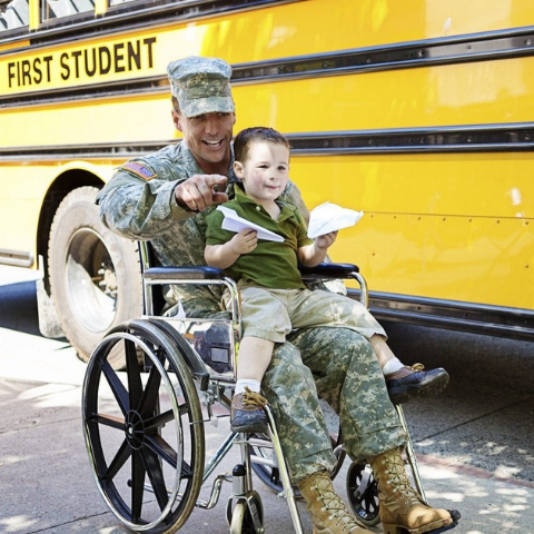 Visit the Veterans with Disabilities page